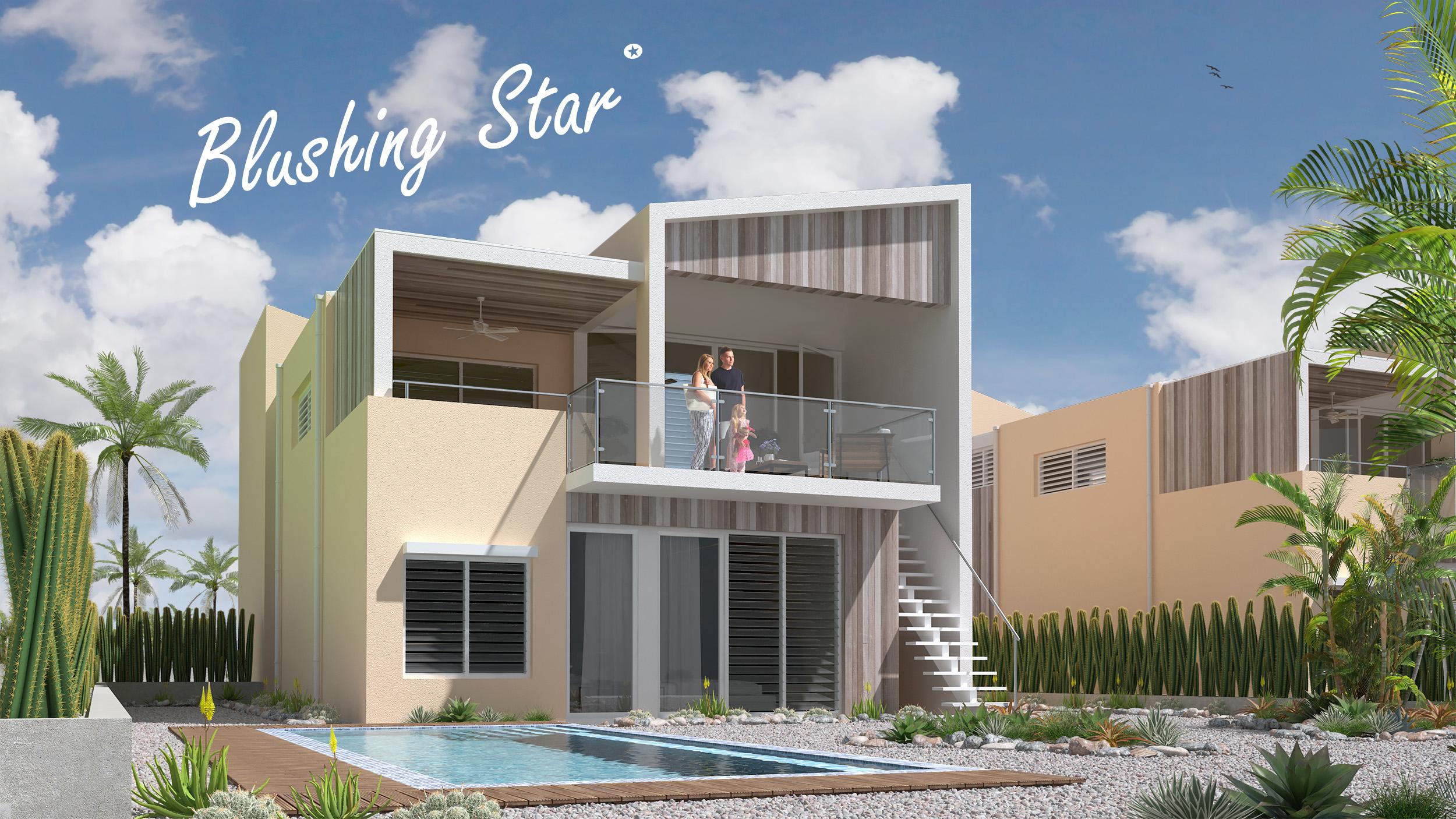 Delfins Villas Bonaire Blushing Star